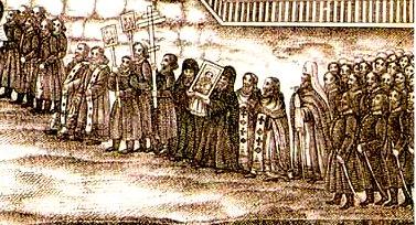 Это изображение имеет пустой атрибут alt; его имя файла - Внесение-иконы-в-Никольскую-церковь-13-мая-1856-г..jpg